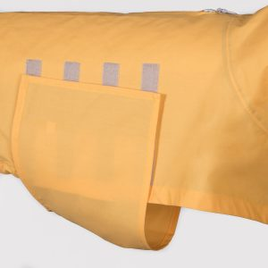 Cloud7-Dog-Raincoat-London-Yellow-Velcro-Shutter